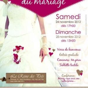 Salon du mariage  2012
