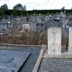 La tombe des soldats du Commonwealth a Geronville