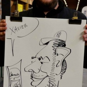 caricature JUMATT-7028