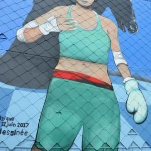 Fresque de Spray Can Arts en hommage a Enki Bilal