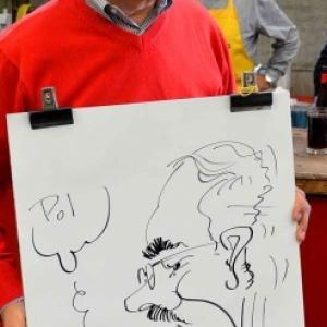 caricature JUMATT-7017