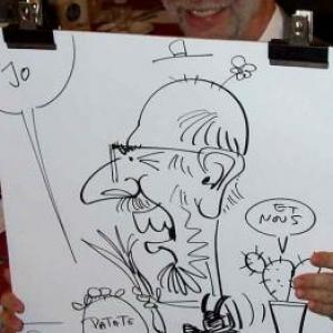 Caricatures pour les 60 ans de Henri ROEMER - photo 8631