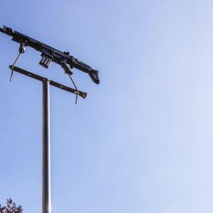 L'exposition des 19 « girouettes belges » dans le parc classé de La Châtaigneraie est prolongée jusqu'au 29 août 2021.