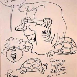 Caricature pour les 50 ans de Anne et Rene-1758