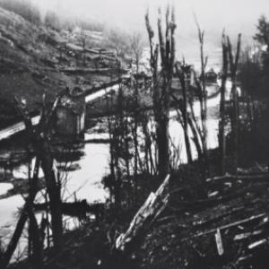"""""""Houffalize se souvient"""" 1945- route de Laroche"""
