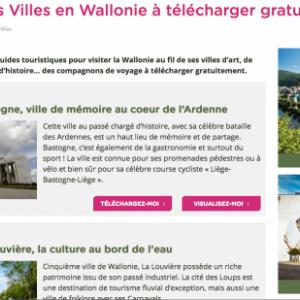 Visitez La Louviere ,aide ,un carnet decouverte