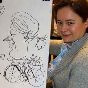 ING - caricature 8190