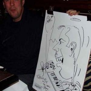 Caricature au Frenchie Restaurant de Luxembourg-7042