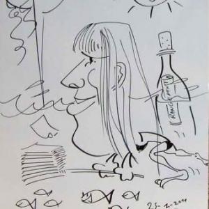 ING - caricature 8179