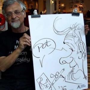 Karikaturen Pot interieur Axel-8325