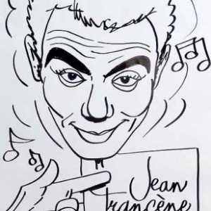 Richard Ruben en caricature