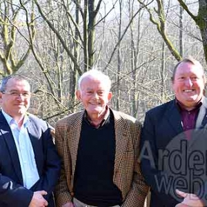 M. Pascal Daulne, M. Gerard Wilkin et M. Jose Burgeon-2254