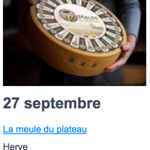 Eat local 27 septembre
