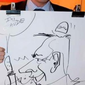 caricature NISSAN Marche - 5830