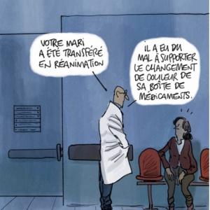Le journal Le Monde a bien illustré l'absurdité de cette réaction des grands pontes[
