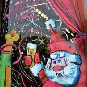 ATH-peinture sur vitrine pour NOEL-2389