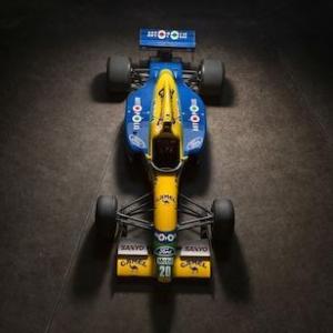 Vente de la monoplace Benetton-Ford