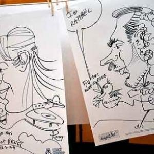 Caricature pour les 50 ans de Anne et Rene-1775