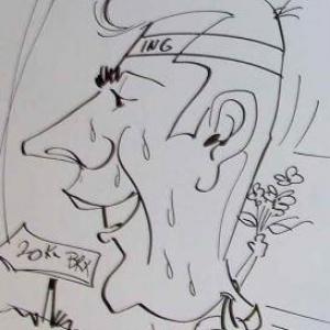 ING - caricature 8164