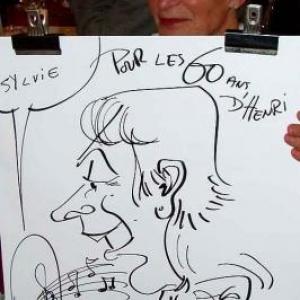 Caricatures pour les 60 ans de Henri ROEMER - photo 8630