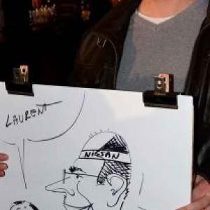 caricature NISSAN Marche - 5844