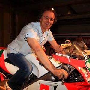 Luca Cadalora - Inaugurazione Collezione Yamaha Moto Poggi COMP - Inaugurazione Collezione Yamaha Moto Poggi COMP