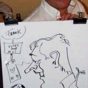 Caricatures pour les 60 ans de Henri ROEMER - photo 8632