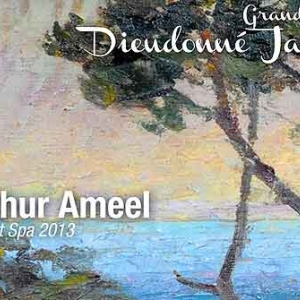 Ameel Arthur expose a La Garde