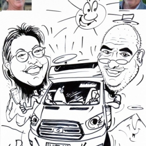 caricature mobilHome