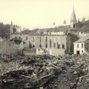Houffalize 1944 1945 place de Eglise