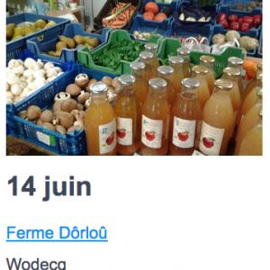 Eat local  14 juin