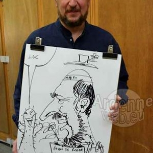 Caricature Roger- 2733