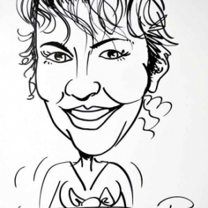 Caricature Jose Michel-4483