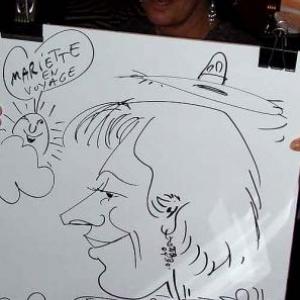 Caricature au Frenchie Restaurant de Luxembourg-7050