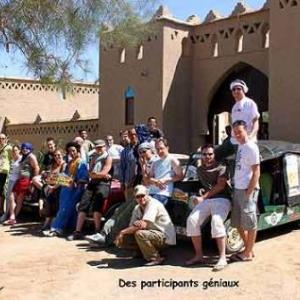 le groupe de 24 participants au Maroc
