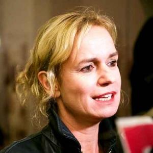 Sandrine Bonnaire en interview-express, juste avant l'annonce du Palmares