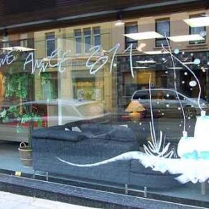 Peinture sur vitrine pour Noel-7391