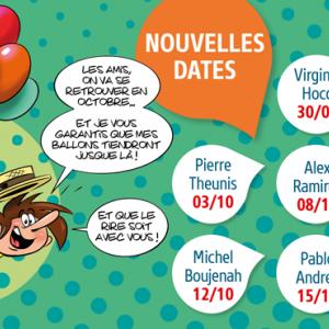 Festival International du Rire de Rochefort 2020 annulé
