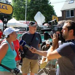 Tour de France 2015 Dislaire Christel en vedette sur RTL