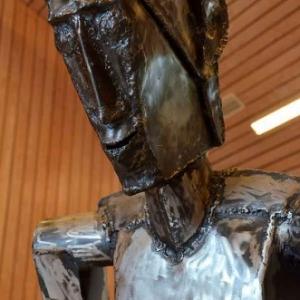 """""""Homme en Marche"""" par Jean-Marie Collet-3624"""