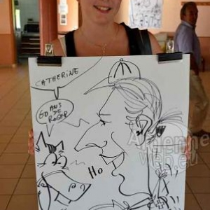 Caricature Roger- 2731