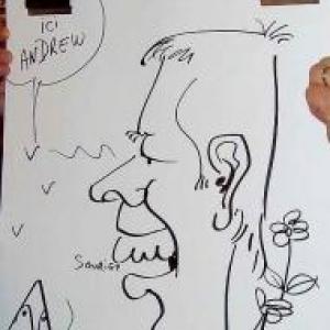 Caricatures pour les 60 ans de Henri ROEMER - photo 8628
