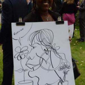Caricature pour le mariage - 1245