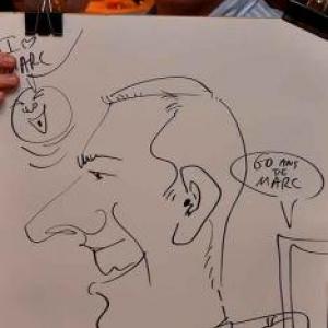 Caricaturiste pour les 60 ans de Marc - photo 1755