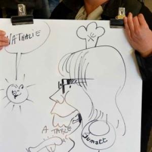 caricature JUMATT-7019