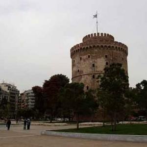 02: Thessalonique - Lefkos Pirgos, la Tour blanche