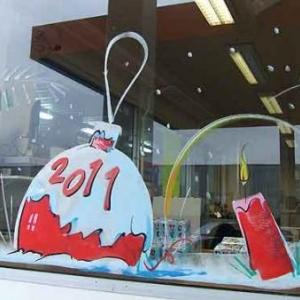 Peinture sur vitrine pour Noe - Framerie - photo 7255