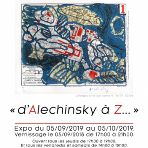 Pierre Alechinsky et Serge Vandercam