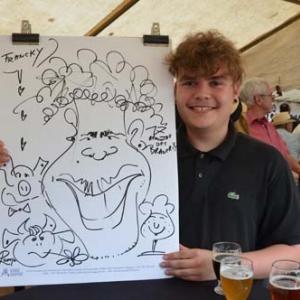 Hotton, 17e Rencontre des brasseries en caricature