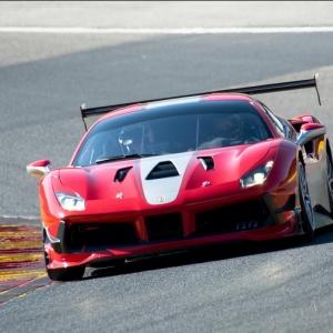 Des baptêmes de piste en Ferrari 488 Challenge !